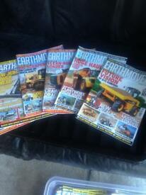 Earth movers magazines