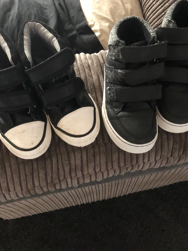 One size 11 one 12 boys shoes  44da51138