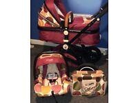 Isafe Pram stroller & car seat.