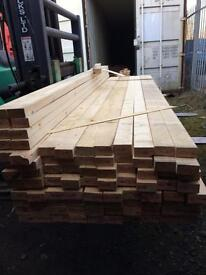 """New timber joists 3""""x 1-1/2"""" x 9 ft long"""