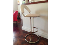 Stylish and comfortable bar stool
