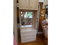 LARGE BEDROOM WARDROBES AND DRAWER CHESTS
