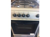 BEKO GAS COOKER 50cm single oven with grill free delivery and warranty