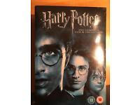 Harry Potter DVD's