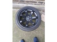 "Rota Grid Alloys 16"" With Tyres"