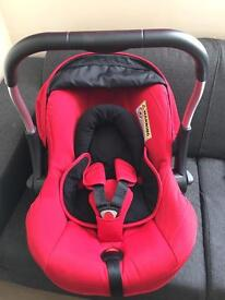 Silver cross car seat and isofix base