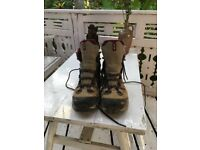 Womens Saloman Walking boots Size 7