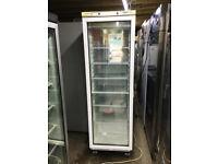 Mondial Elite Upright Commercial Glass Door Freezer- Very good condition