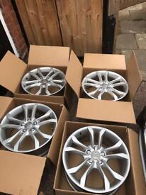 Audi S3 alloy wheels