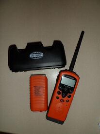 Jotron handheld VHF marine radio, model TR20