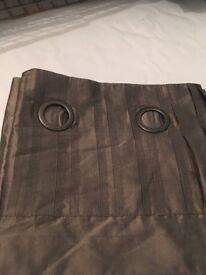 New next silk curtains