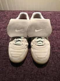 Nike Tiempo 94 Suede Grey Trainers - Size 10 (UK) - Very Good Condition