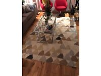 Harlequin 160 x 220 rug - pebble/beige/natural - great condition