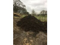 Two years old well rotted organic manure