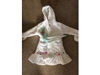 Girls tinker bell dressing gown 2-3 yrs