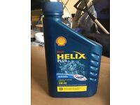 New Shell helixplus motor oil 5w-40