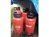 FREE GAS BOTTLES X 6