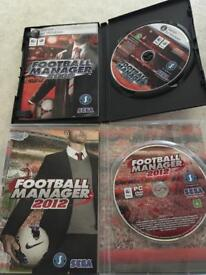 Football manager 2012 & 2008