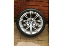 BMW 3 series 5series 18 inch mv2 alloy free delivery