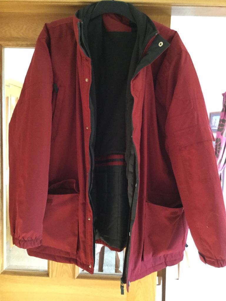 As new men's waterproof jacket 2xl