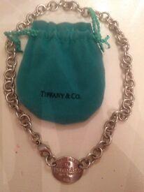 genuine tiffany necklace