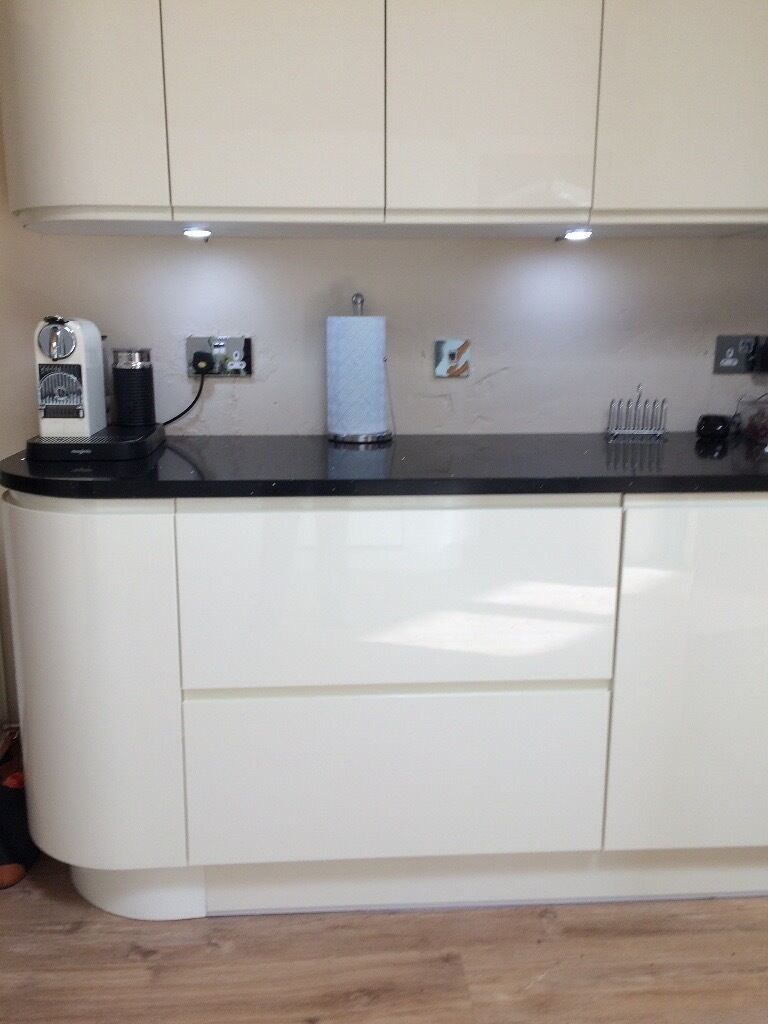 Cream Gloss Kitchen Wren Cream Gloss Kitchen Units In Southside Glasgow Gumtree