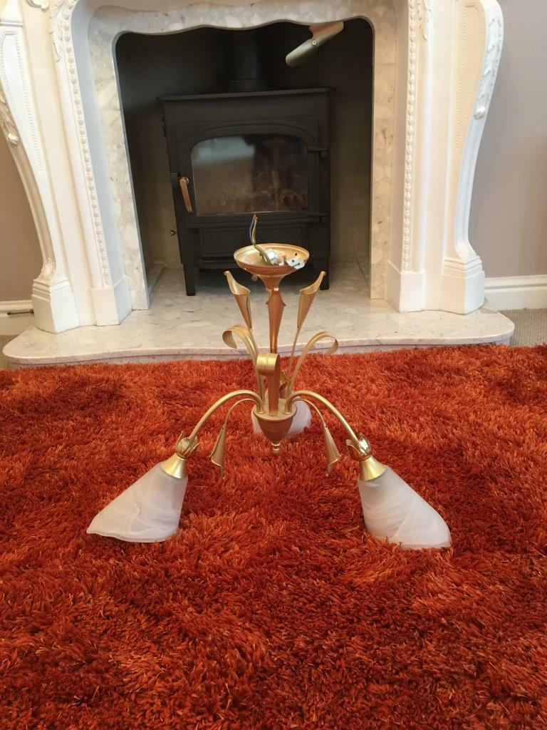 Beautiful Gold Ceiling And Wall Lights In Bridgend Gumtree