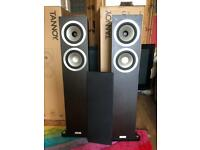 Brand new tannoy revolution DC6T SE floor standing speakers comes with fitting and instructions