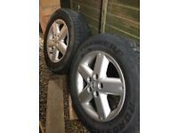 Nissan X Trail alloy Wheels 215/65R16 Tyres x4