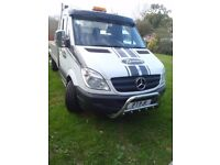 Mercedes sprinter car transporter 313 CDI LWB