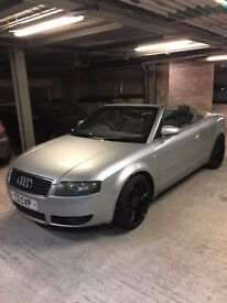 Audi A4 CABRIOLET 1.8 Turbo Sport 2dr petrol..