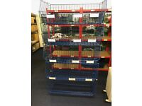 Racking and Shelving all different sizes and styles available