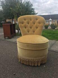 Green Bedroom Chair