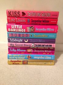 31 Jacqueline Wilson Books (Mixture of hardback and paperback) £3 EACH
