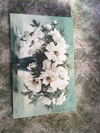 Adelene Fletcher Flower Canvas