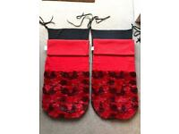 Cosy red Footmuff/Buggy Snuggle