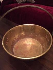 Brass jelly pan