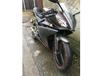 Yamaha yzf r125 2010 delivery service