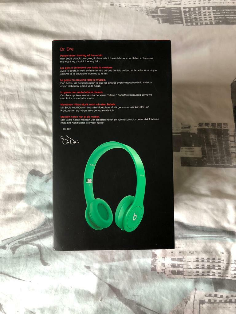 Beats Solo HD - Green | in Walthamstow, London | Gumtree