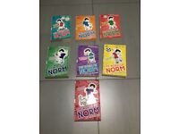 7 x The World of Norm books by Jonathan Meres in Excellent Condition