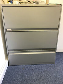2 LARGE FILING CABINETS (ONE IS TEKNION) *REDUCED!*