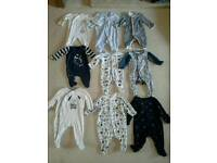 Baby grows 0-3 months (mothercare, gap,John Rocha)
