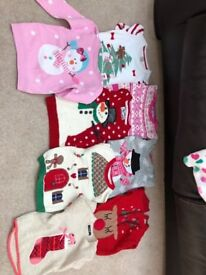 Girls Christmas jumpers age 3-4