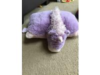 Unicorn pillow pet