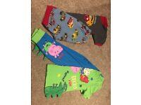 Boys Pyjamas Aged 3-4 Years