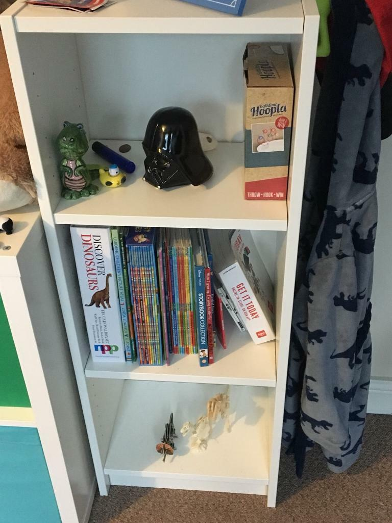 White IKEA Book Shelf