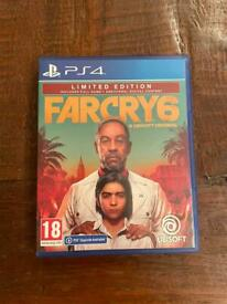 Farcry 6 PlayStation 4 PS4 game