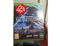 Brand new star wars battlefront 2 xbox one game for sale