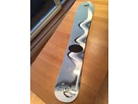 Factory Boarding Swing 144cm Wood Core Snowboard and stomp pad, Made in Austria, Excellent Condition