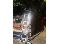 3 part extension ladder